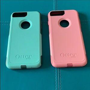 Aqua Blue OtterBox Commuter Case